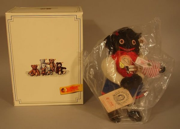 4014: Black Americana - Steiff Golli Girl Doll