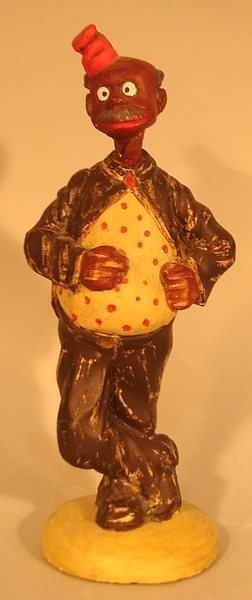4032: Black Americana - Caracature Chalkware Figure