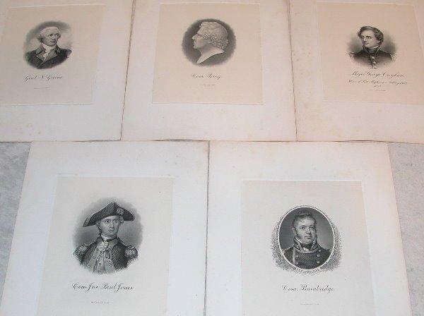 16: Grouping of Proof Steel Engravings.
