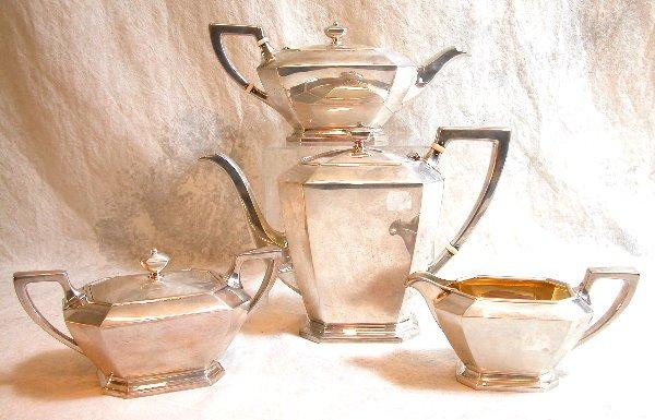 516: Sterling Silver Tea Set – Gorham.