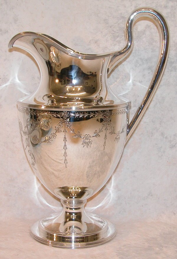 518: Sterling Silver Pitcher – Kirk.