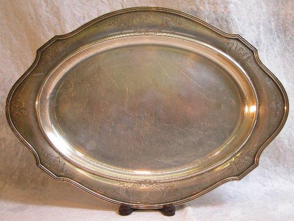 525: Sterling Silver Tray – Gorham.