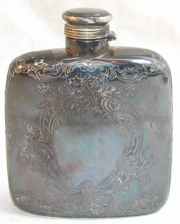 527: Sterling Silver Flask – Gorham.