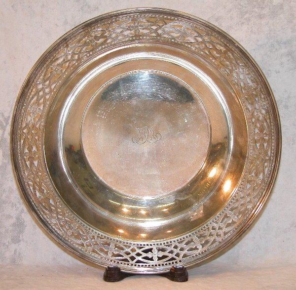 533: Sterling Silver Bowl – Tiffany.