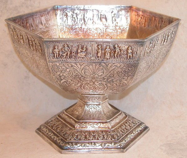 534: Sterling Silver Footed Bowl.
