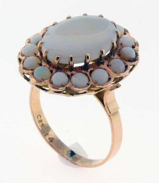 2002: Opal ring.