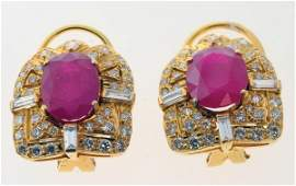 2173 Ruby earrings