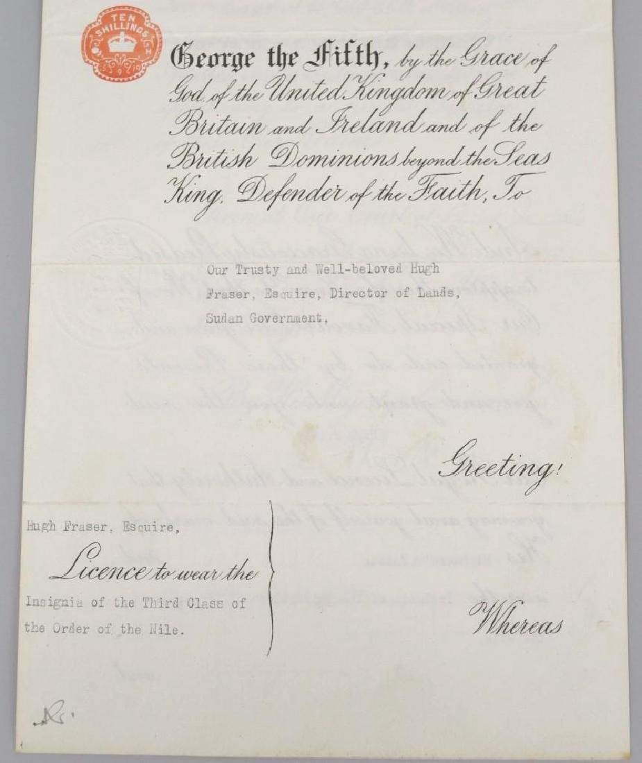 Autograph of English King George V - 3