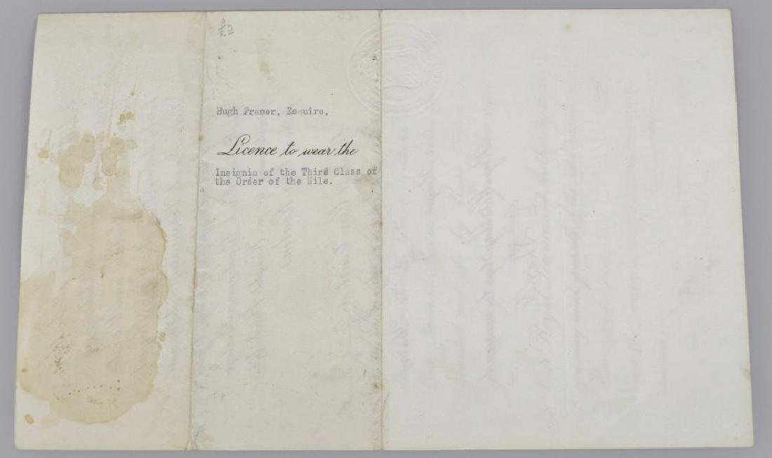 Autograph of English King George V - 7