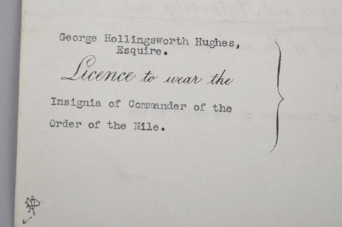 Autograph of English King George V - 4