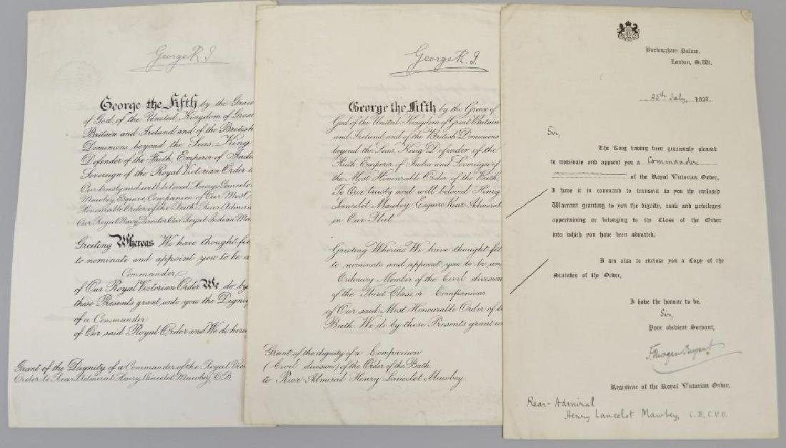 Document Archive -British Admiral Mawbey