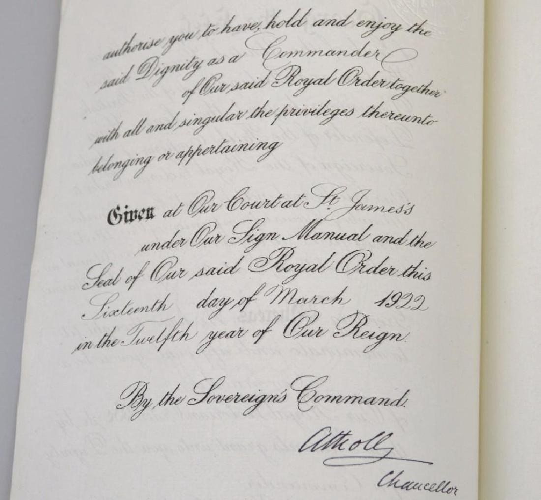Document Archive -British Admiral Mawbey - 5