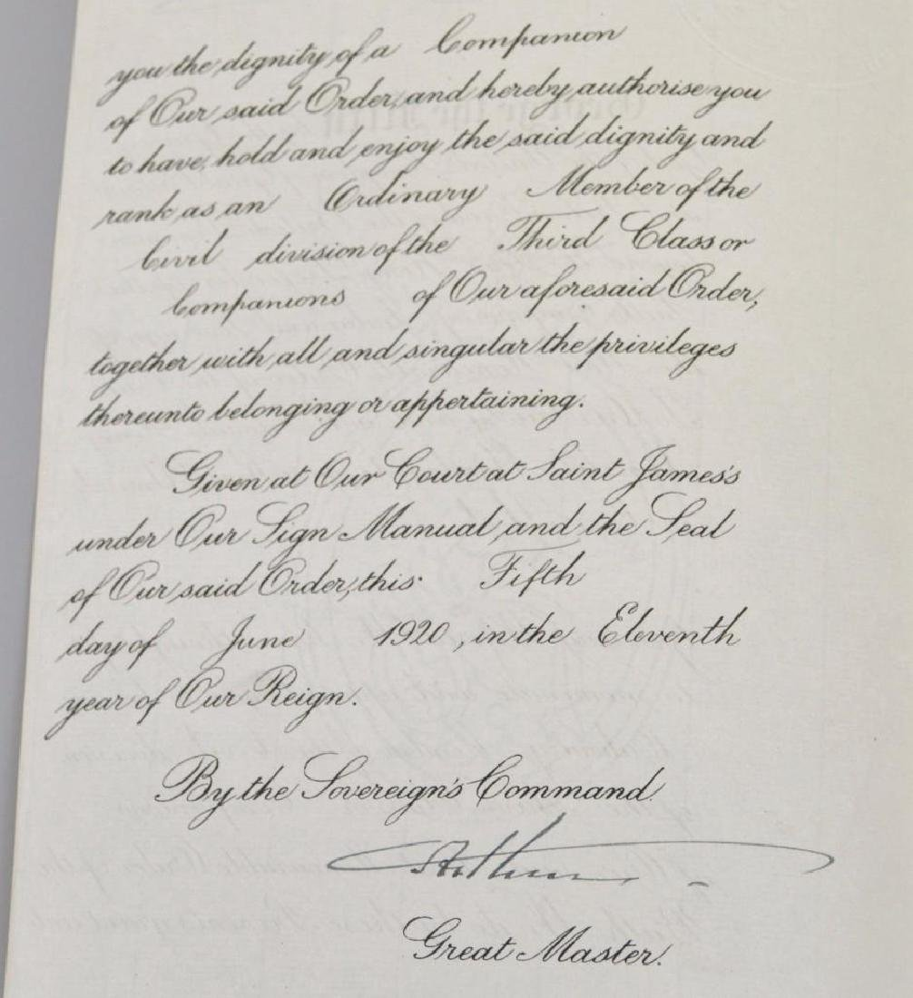 Document Archive -British Admiral Mawbey - 7