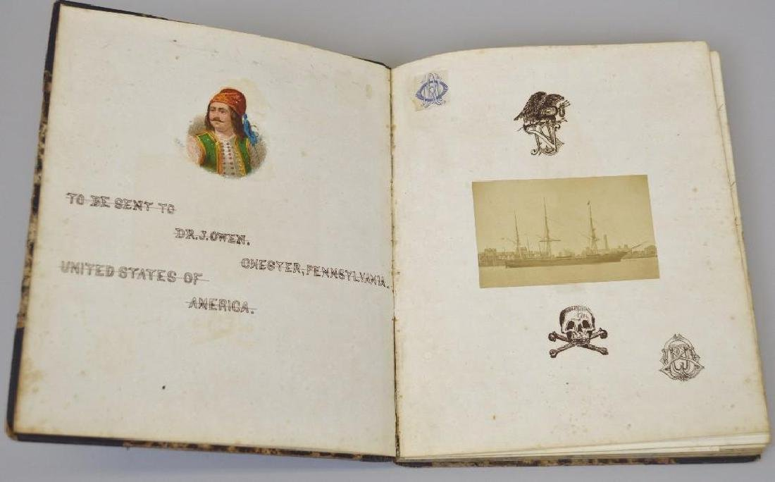 Manuscript Diary/Cruise Book -1870s by US Navy Surgeon