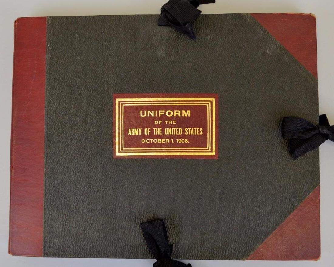 US Army Uniform Folio-1908