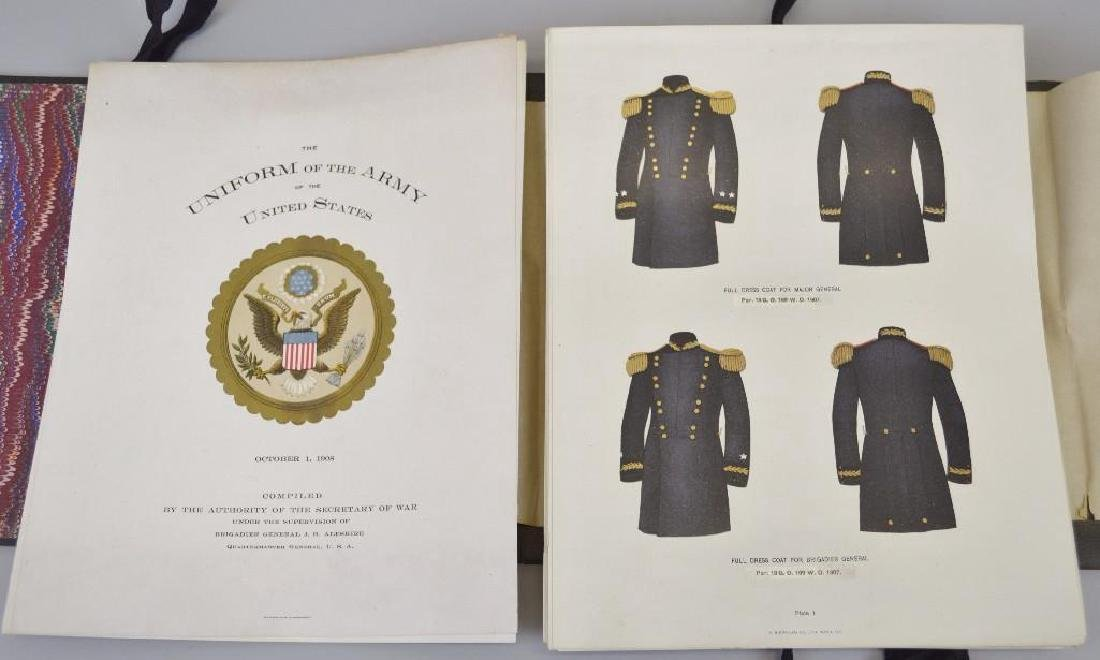 US Army Uniform Folio-1908 - 2