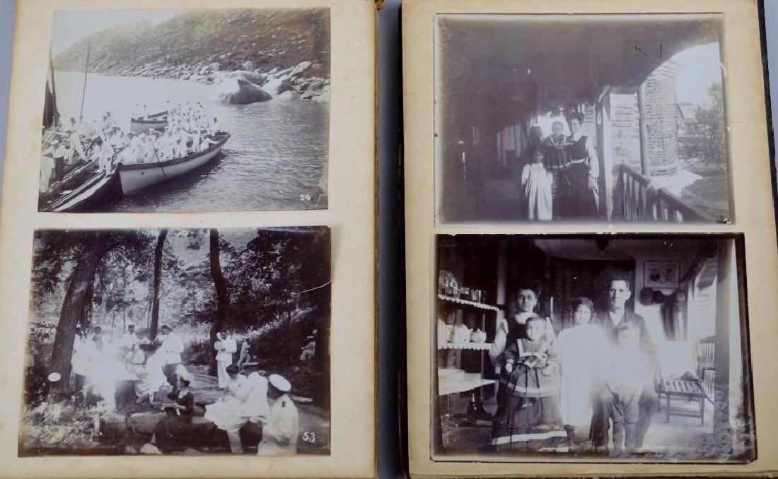 19th Century German Naval Photo Album-Far East