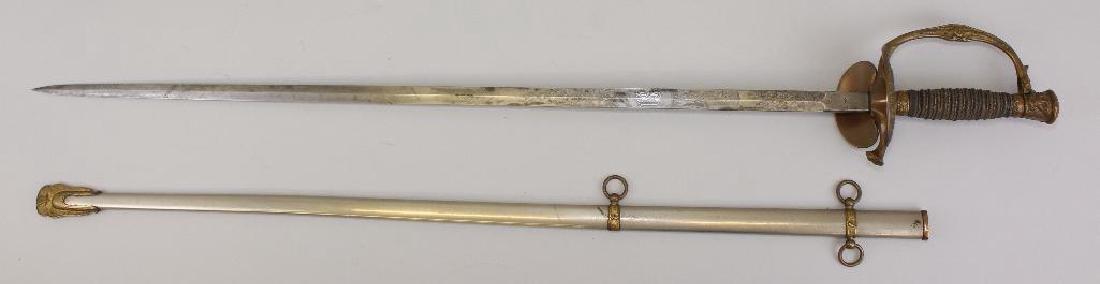 US Model 1860 Staff & Field Sword