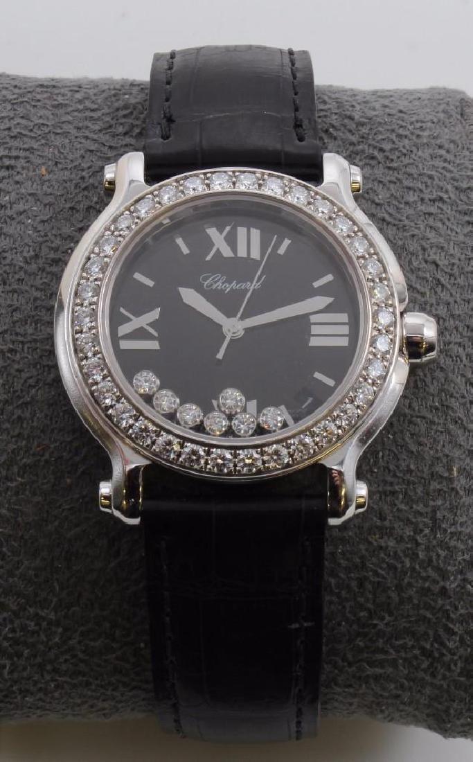Ladies Chopard Happy Sport Diamond and 18K White Gold - 2