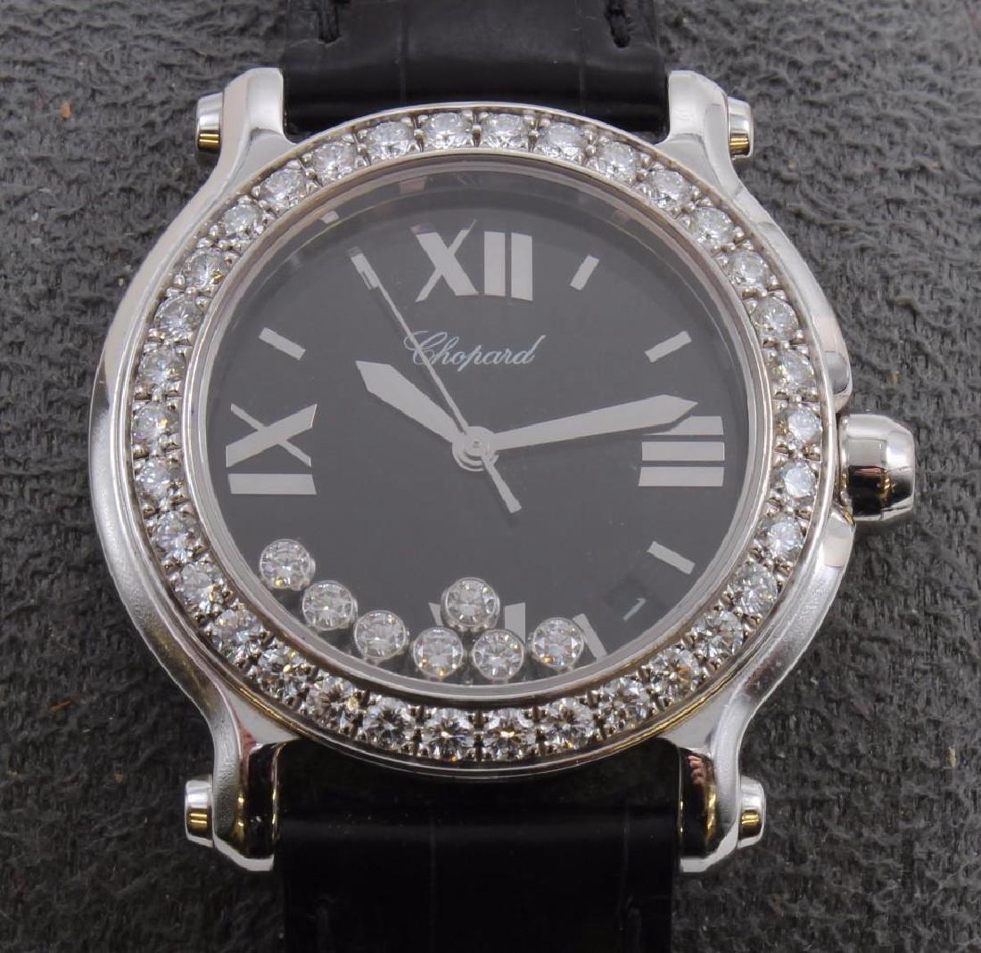 Ladies Chopard Happy Sport Diamond and 18K White Gold - 3