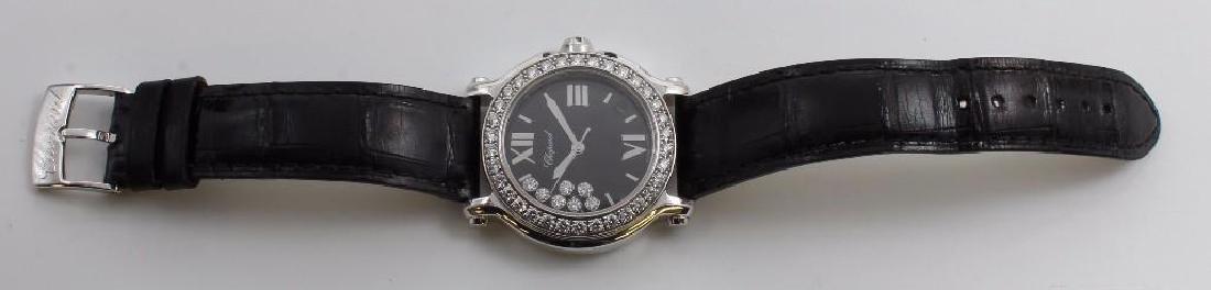 Ladies Chopard Happy Sport Diamond and 18K White Gold - 4