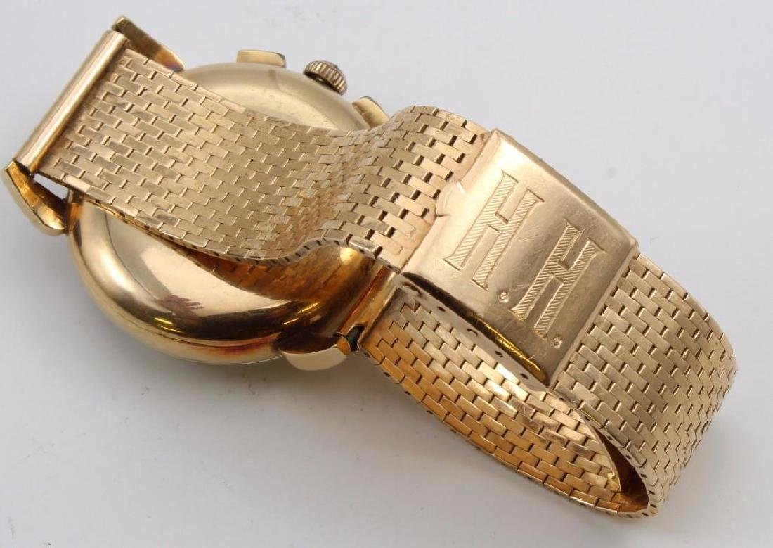 Gent's Universal Geneve Compax 14K Yellow Gold - 3