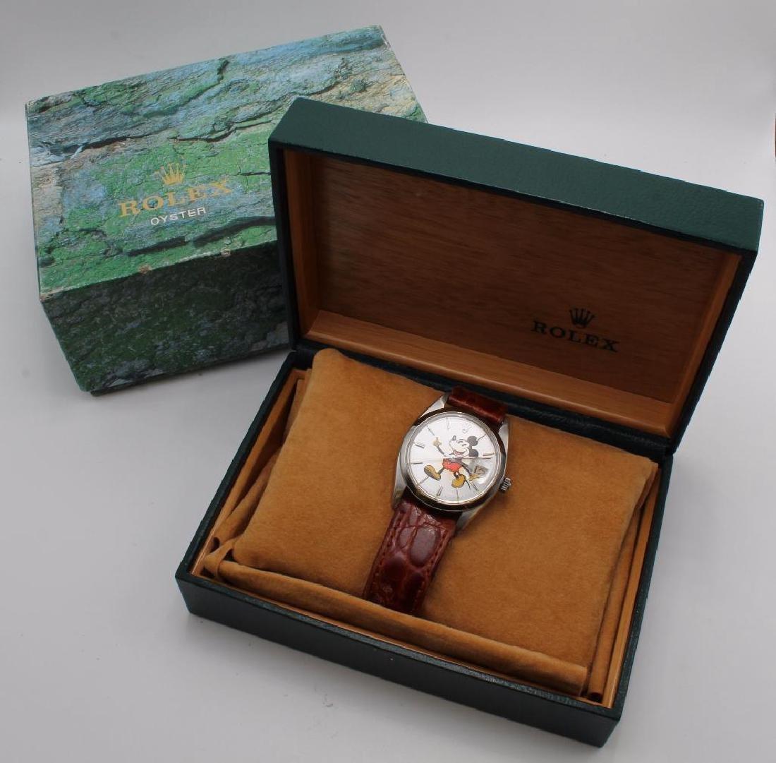 Rolex Mickey Mouse Wrist Watch. 6694 - 10