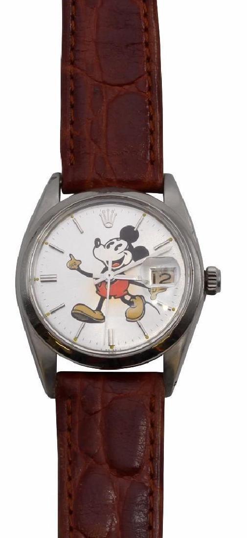 Rolex Mickey Mouse Wrist Watch. 6694