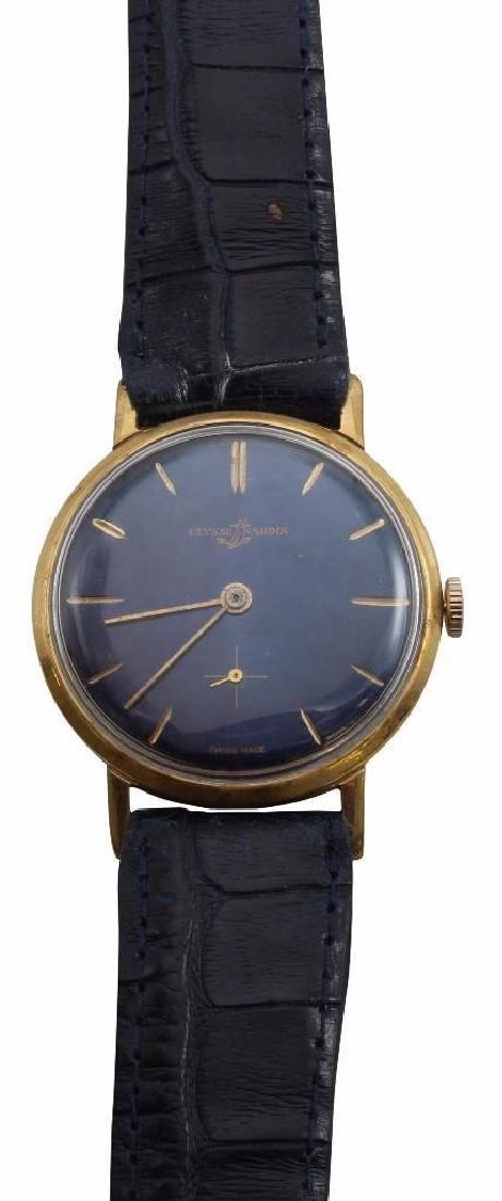 ULYSSE NARDIN Gold Plated Wrist Watch