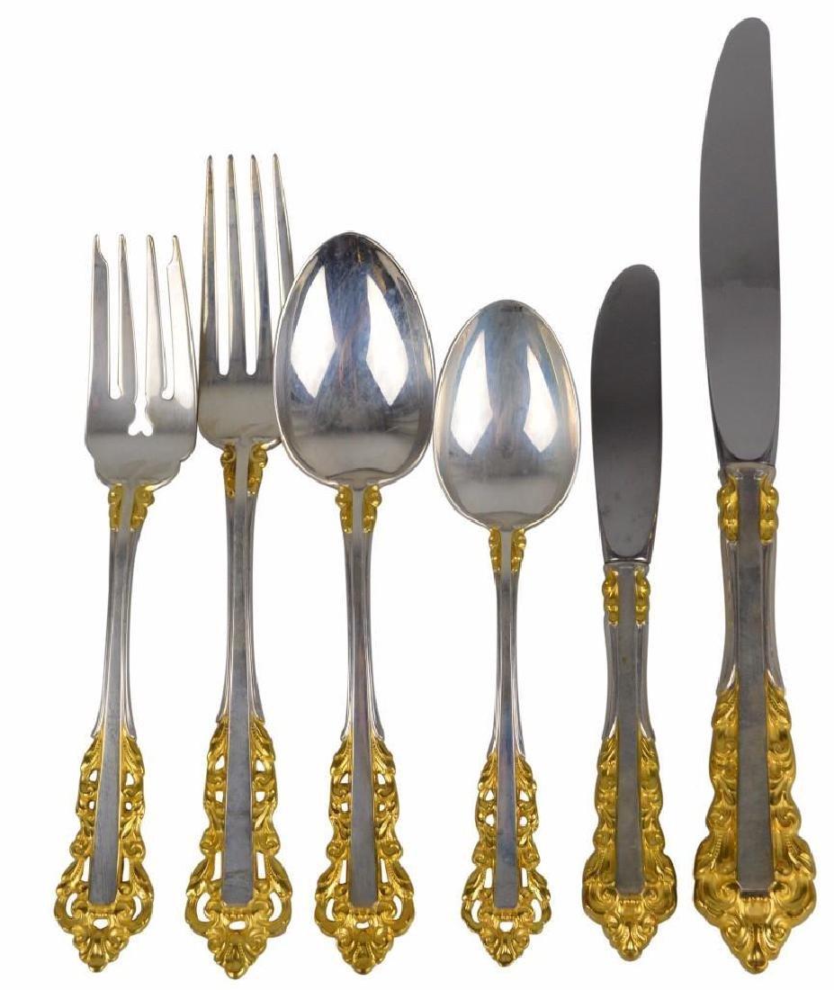 Gorham Golden Medici Sterling Flatware
