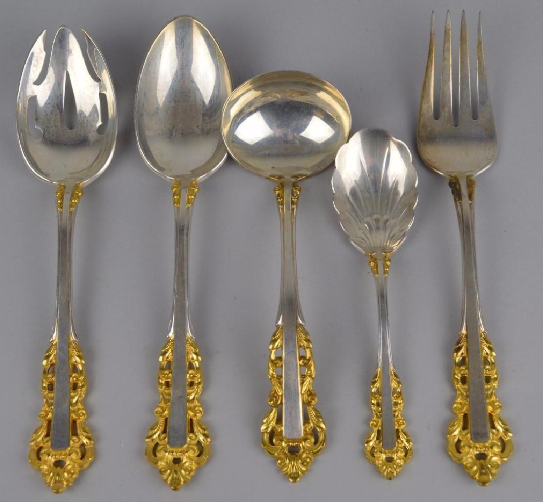 Gorham Golden Medici Sterling Flatware - 2