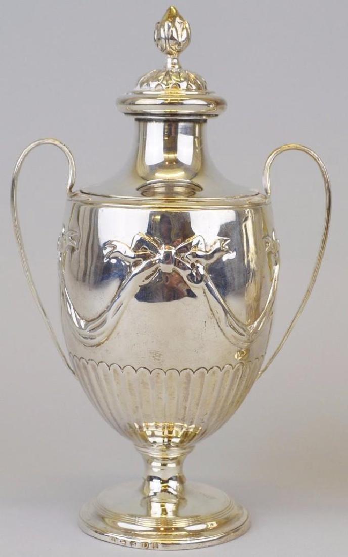 Joshua Johnson,  Silver  Tea Caddies - 2