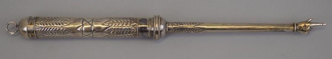 Antique Russian Silver Torah Pointer