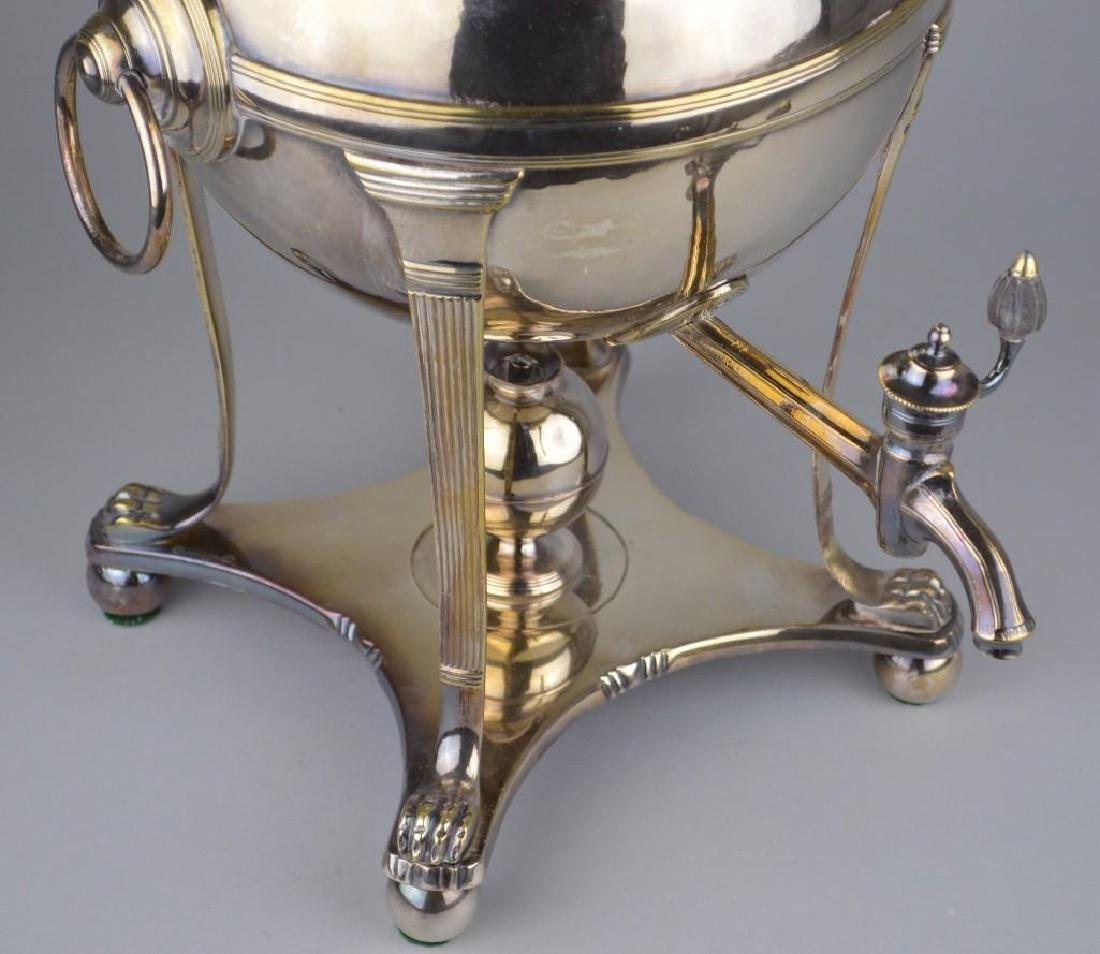 Thomas Harper Georgian Silver Hot Water Urn - 2