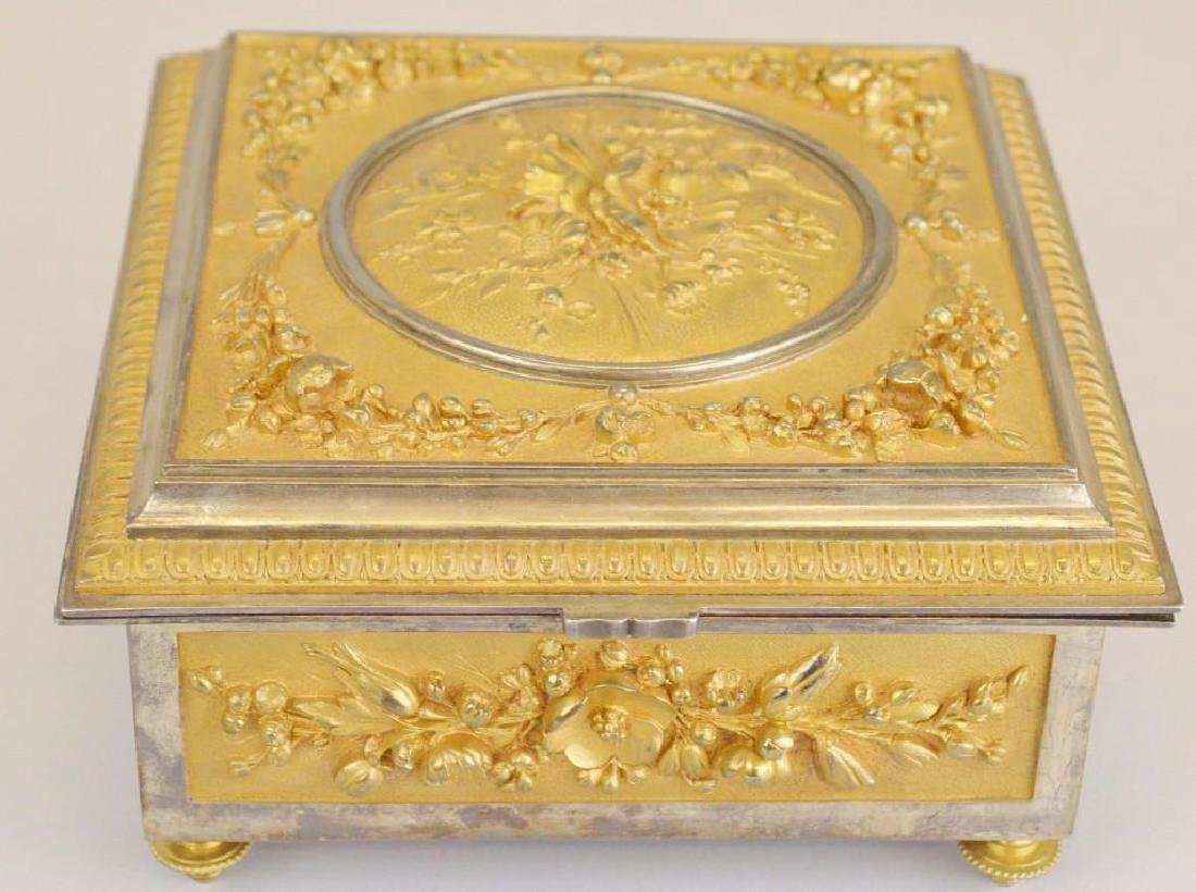 Victorian Ormolu Jewelry Casket