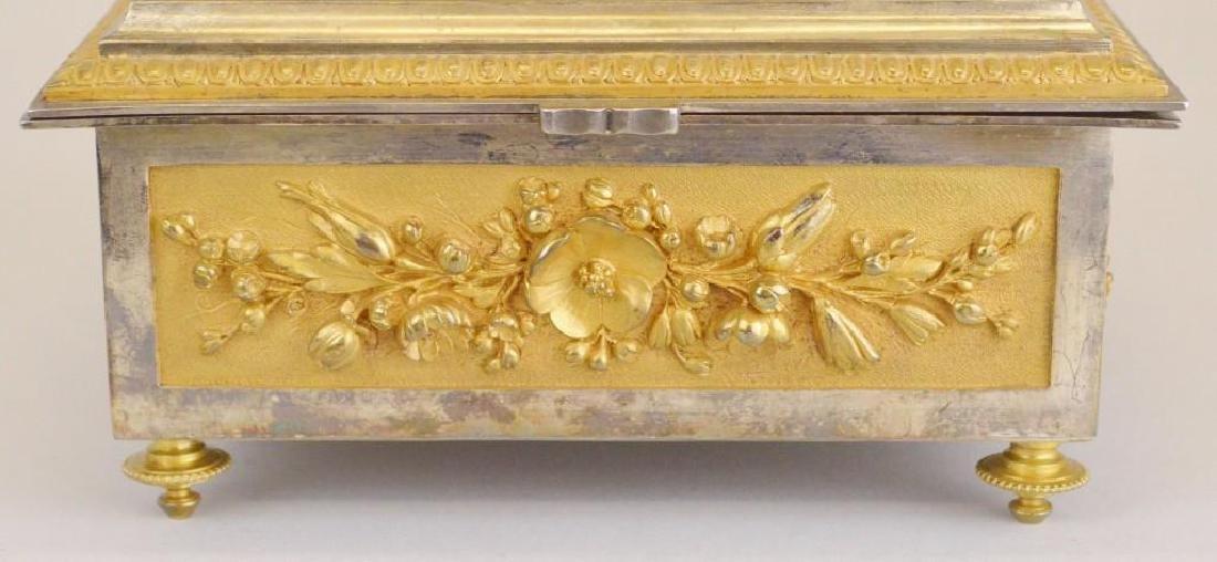 Victorian Ormolu Jewelry Casket - 3