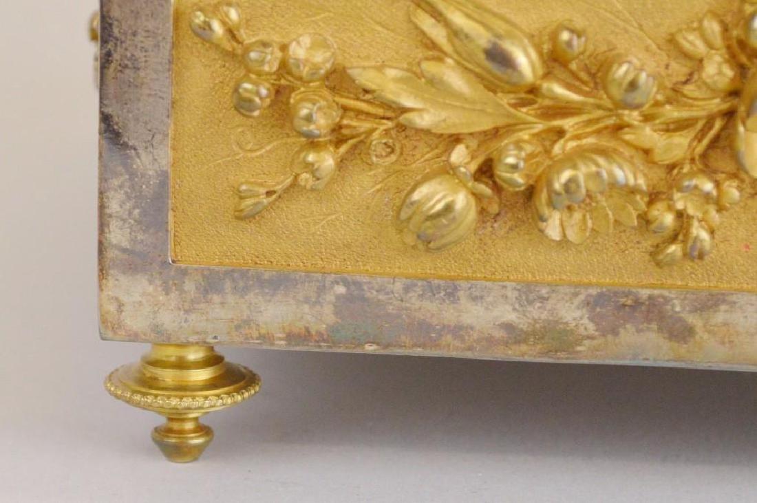 Victorian Ormolu Jewelry Casket - 4