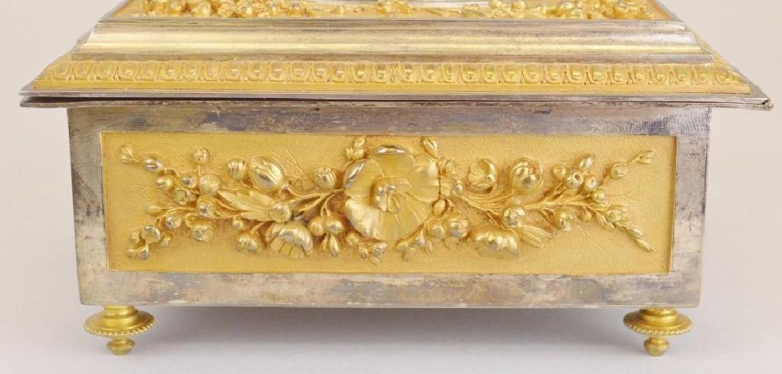 Victorian Ormolu Jewelry Casket - 5