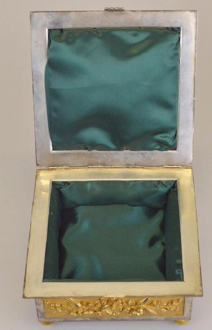 Victorian Ormolu Jewelry Casket - 6