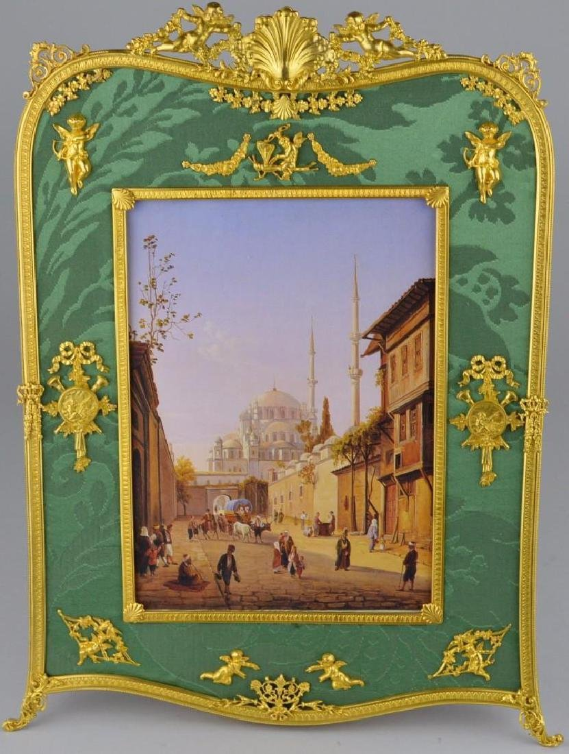 Neoclassical Moire Ormolu Frame