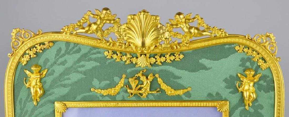 Neoclassical Moire Ormolu Frame - 2