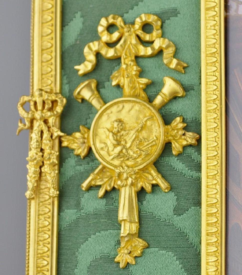 Neoclassical Moire Ormolu Frame - 4
