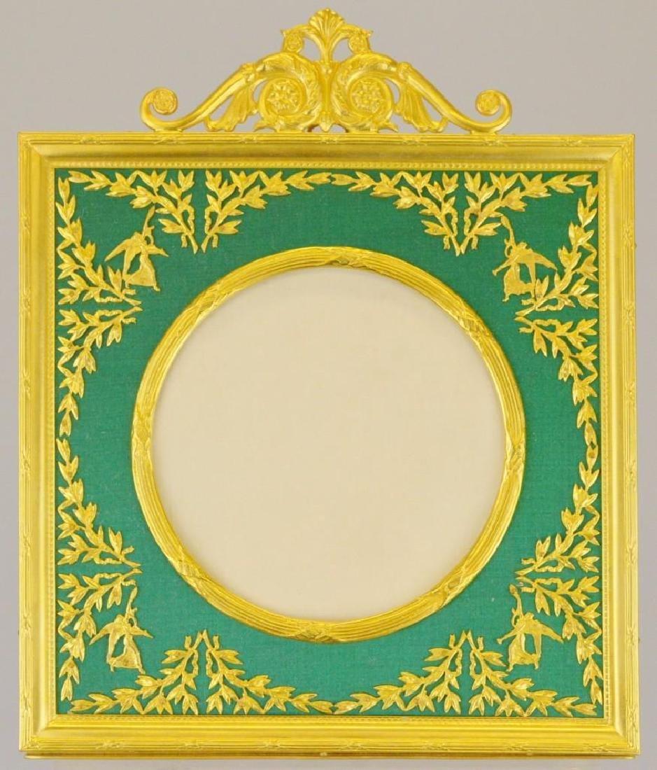 French Empire Neoclassical Ormolu Frame