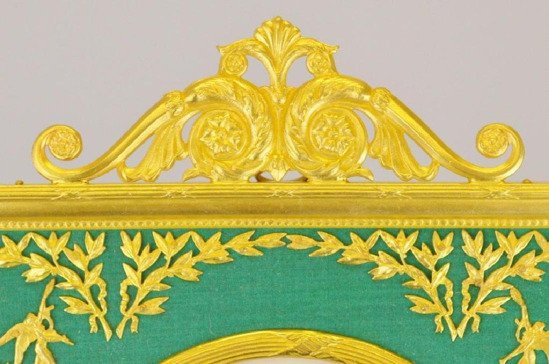 French Empire Neoclassical Ormolu Frame - 2