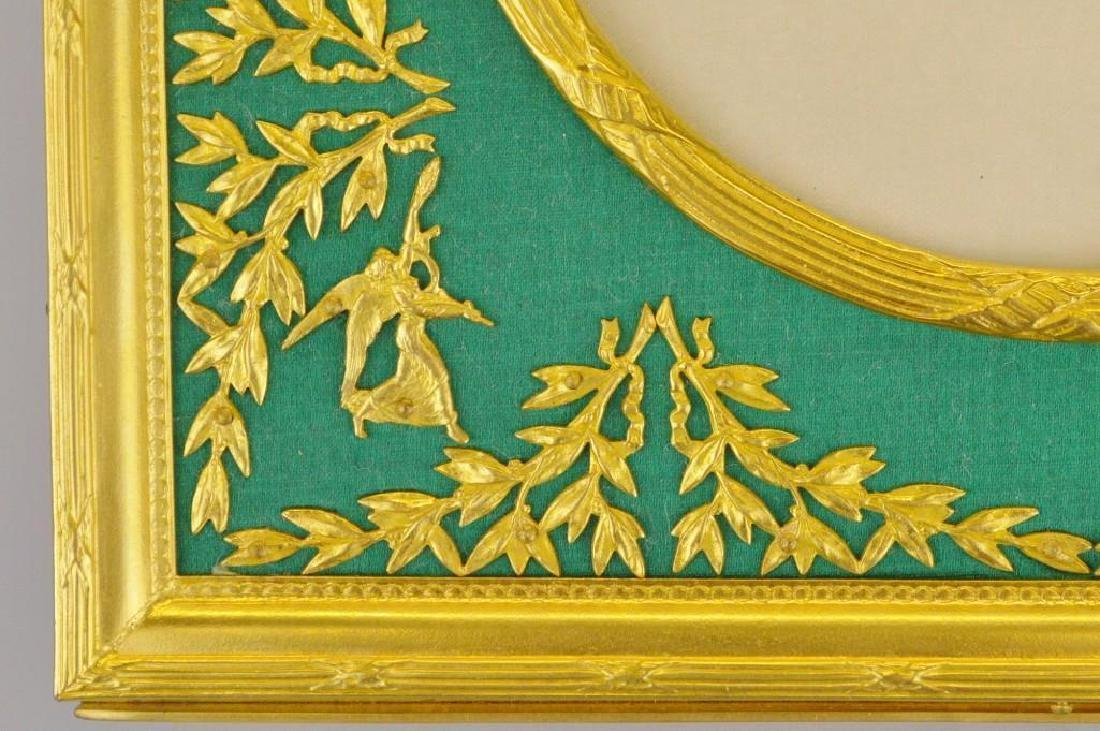 French Empire Neoclassical Ormolu Frame - 3