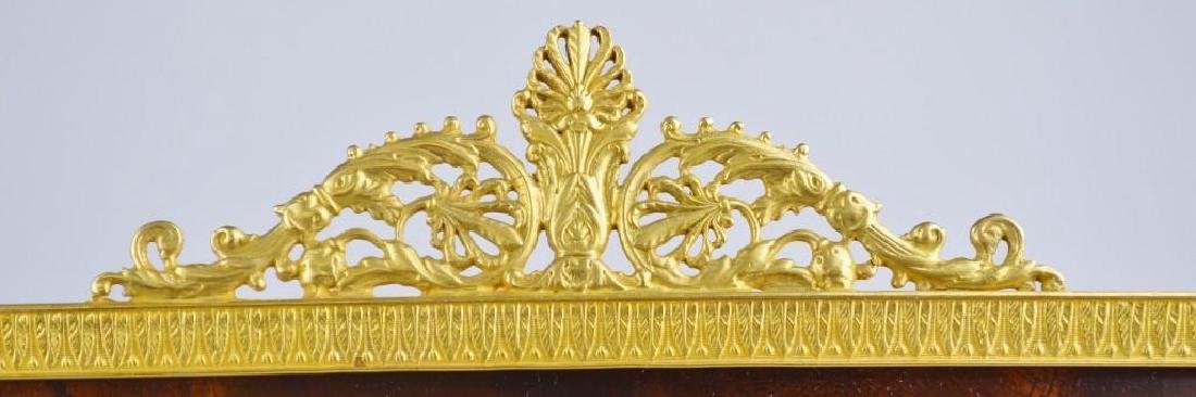 French Empire Neoclassical Moire Ormolu Frame - 4