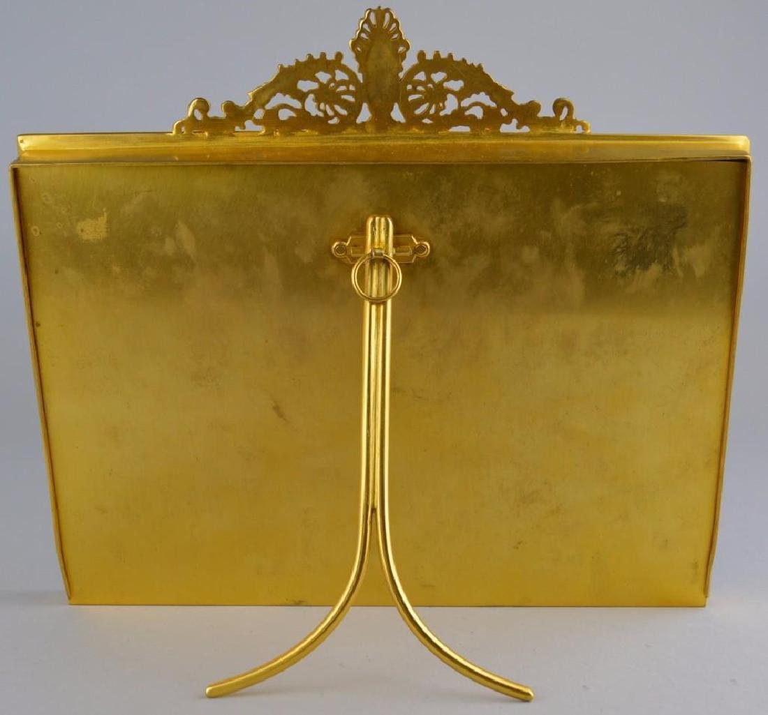 French Empire Neoclassical Moire Ormolu Frame - 6