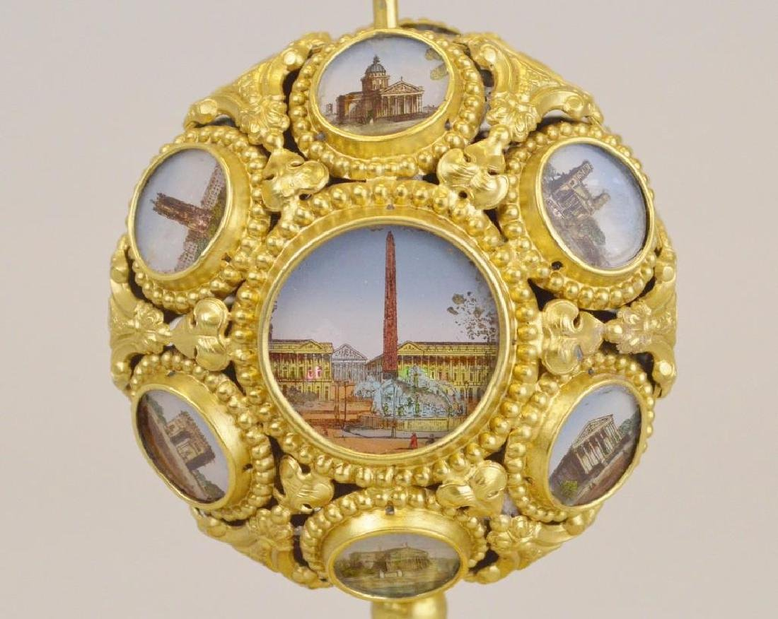 French Napoleon III Palais Royal Mechanical Scent Caddy - 5