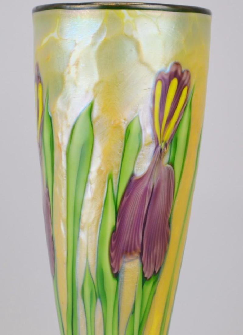 Orient and Flume Art Glass Vase - 2