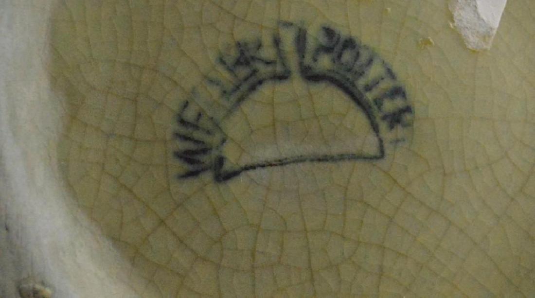 Weller Hudson Iris Pottery Vase - 4